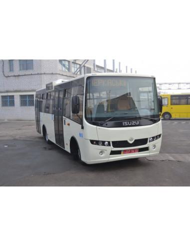 Городской низкопольный автобус
